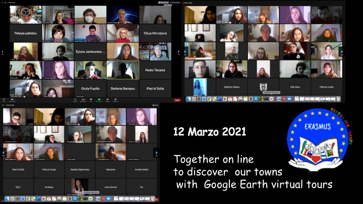 """ Rooting for Europe"" Erasmus Project Virtual Event"